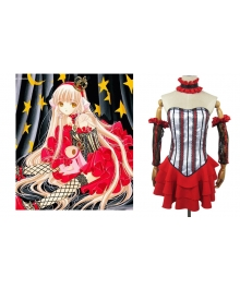 Chi Red Cosplay Costume from Chobits