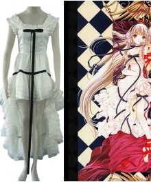 Chi White Dress Cosplay Costume from Chobits