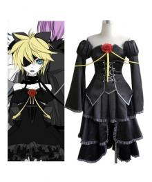 Vocaloid Kagamine Len Black Cosplay Costume