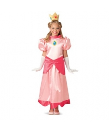 Super Mario Bros Princess Peach Child Costume