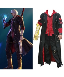 Devil May Cry 4 Nero Cosplay Costume - B Edition