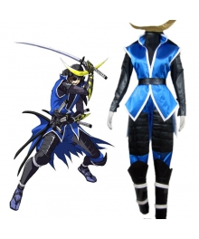 Devil Kings Sanguko Basara II Date Masamune Cosplay Costume