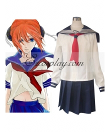 Gintama Kagura School Uniform Cosplay Costume