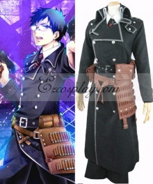 Blue Exorcist Ao no Exorcist Yukio Okumura Battle Cosplay Costume