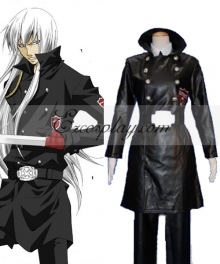 Katekyo Hitman Reborn! Superbia Squalo Varia Uniform Cosplay Costume
