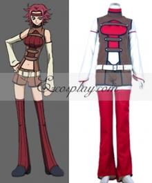 Code Geass Lelouch of the Rebellion Kallen Stadtfeld Cosplay Costume