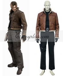 Resident Evil 4 Game Leon Scott Kennedy Cosplay Costume