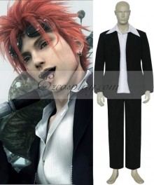 Final Fantasy VII Reno Cosplay Costume