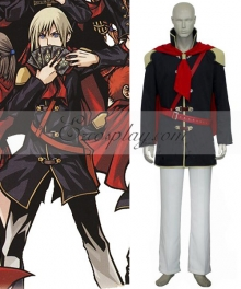 Final Fantasy XIII Agito Boy Uniform Cosplay Costume