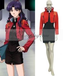 Neon Genesis Evangelion Misato Katsuragi Cosplay Costume