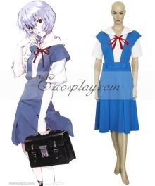 Neon Genesis Evangelion Ayanami Rei Uniform Cosplay Costume