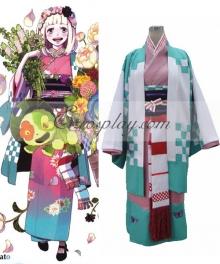 Blue Exorcist Ao no Exorcist Moriyama Shiemi Kimono Cosplay Costume