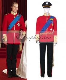 Prince William Wedding Uniform Cosplay Costume