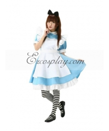 Alice Cosplay Costume from Alice in Wonderland