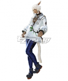 Final Fantasy XIV FF14 Y'shtola Rhul Yshtola Rhul Cosplay Costume - No Accessories