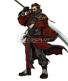 Final Fantasy FFX Auron Cosplay Costume
