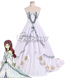 Final Fantasy IX FF9 Garnet til Alexandros princess dress Cosplay Costume - Premium Edition