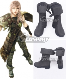 Final Fantasy Lightning Returns Lightning Eclair Farron Shoes Cosplay Boots