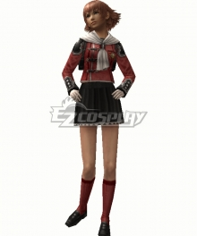 Final Fantasy type-0 Cater Summer Uniform Cosplay Costume