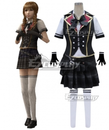 Final Fantasy type-0 Cinque No.5 Summer Uniform Cosplay Costume