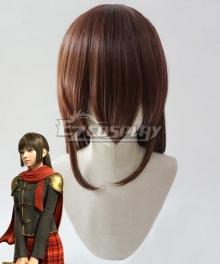 Final Fantasy Type-0 Deuce Brown Cosplay Wig