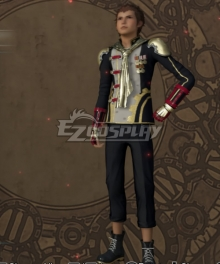 Final Fantasy type-0 Eight Military Uniform Cosplay Costume