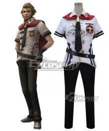 Final Fantasy type-0 Jack Summer Uniform Cosplay Costume