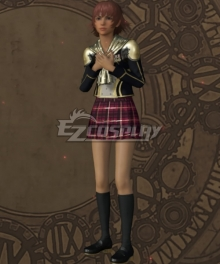 Final Fantasy type-0 Cater Military Uniform Cosplay Costume