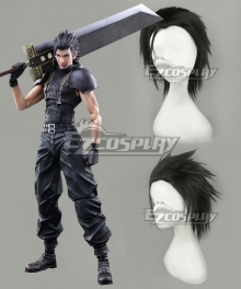 Final Fantasy VII FF7 Zack Fair Cosplay Wig