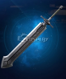 Final Fantasy VII Remake Cloud Strife Iron Blade Cosplay Weapon Prop