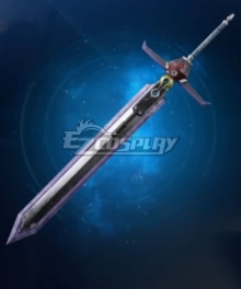 Final Fantasy VII Remake Cloud Strife Mythril Saber Cosplay Weapon Prop