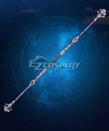 Final Fantasy VII Remake FF7 Aerith Gainsborough Arcane Scepter Cosplay Weapon Prop
