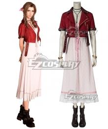 Final Fantasy VII Remake FF7 Aerith Gainsborough Cosplay Costume