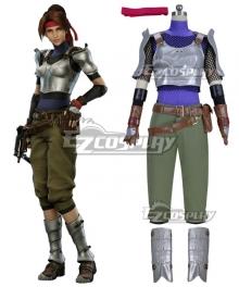 Final Fantasy VII Remake FF7 Jessie Cosplay Costume