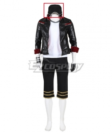 Final Fantasy VII Remake FF7 Leslie Kyle Cosplay Costume Only Hat