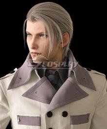 Final Fantasy VII Remake FF7 Rufus Shinra Silver Cosplay Wig