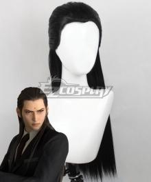 Final Fantasy VII Remake FF7 Tseng Black Cosplay Wig