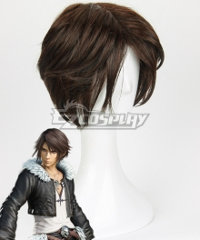 Final Fantasy VIII Squall Leonhart Brown Cosplay Wig
