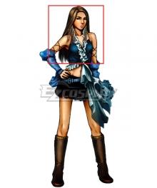 Final Fantasy X-2 Yuna Lenne Brown Cosplay Wig