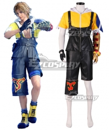 Final Fantasy X FF10 FFX Tidus Cosplay Costume