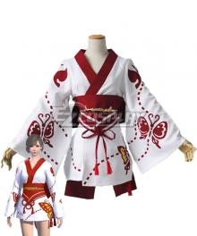 Final Fantasy XIV Clothing Lady's Yukata Redfly Cosplay Costume