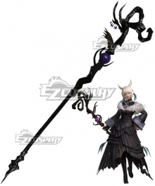 Final Fantasy XIV Shadowbringers 5.0 FF14 Y'shtola Rhul Yshtola Cosplay Weapon Prop