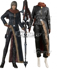 Final Fantasy XV FF15 Aranea Highwind Cosplay Costume