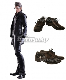 Final Fantasy XV Ignis Scientia Blonde Black Brown Cosplay Shoes
