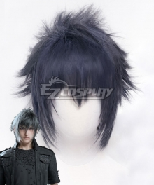 Final Fantasy XV Noctis Lucis Caelum Blue Cosplay Wig