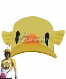 Final Fantasy XV Noctis Lucis Caelum Carnival Cap Moogle Chocobo Hat Cosplay Accessory Prop