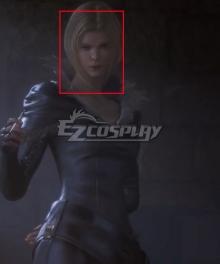 Final Fantasy XVI FF16 Female Enemy Grey Cosplay Wig