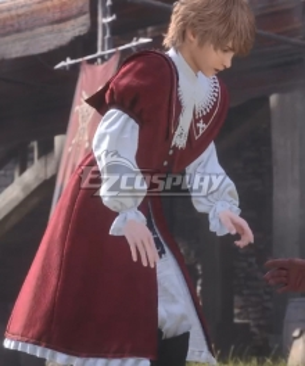 Final Fantasy XVI FF16 Joshua Cosplay Costume
