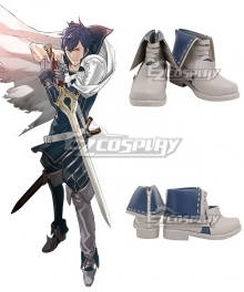 Fire Emblem Chrom Blue Cosplay Shoes