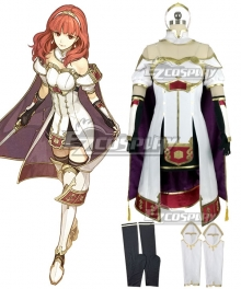 Fire Emblem Echoes: Shadows of Valentia Celica Cosplay Costume
